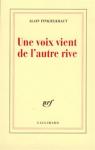 """Couverture du livre : """"Une voix vient de l'autre rive"""""""