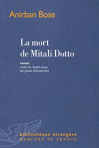 """Couverture du livre : """"La mort de Mitalo Dotto"""""""