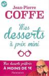 """Couverture du livre : """"Mes desserts à prix mini"""""""