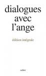 """Couverture du livre : """"Dialogues avec l'ange"""""""