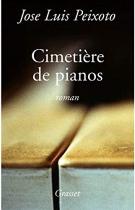 """Couverture du livre : """"Le cimetière de pianos"""""""