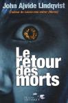 """Couverture du livre : """"Le retour des morts"""""""