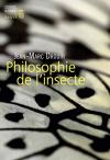 """Couverture du livre : """"Philosophie de l'insecte"""""""
