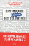 """Couverture du livre : """"Dictionnaire étonnant des célébrités"""""""