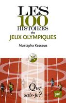 """Couverture du livre : """"Les 100 histoires des Jeux olympiques"""""""