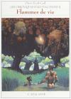 """Couverture du livre : """"Flammes de vie"""""""