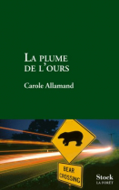 """Couverture du livre : """"La plume de l'ours"""""""