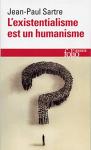 """Couverture du livre : """"L'existentialisme est un humanisme"""""""