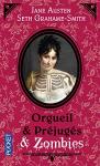 """Couverture du livre : """"Orgueil et préjugés et zombies"""""""