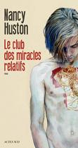 """Couverture du livre : """"Le club des miracles relatifs"""""""