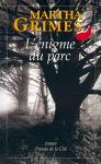 """Couverture du livre : """"L'énigme du parc"""""""