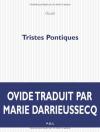 """Couverture du livre : """"Tristes pontiques"""""""
