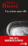 """Couverture du livre : """"Un avion sans elle"""""""