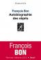 """Couverture du livre : """"Autobiographie des objets"""""""