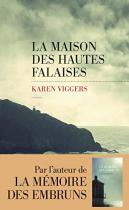 """Couverture du livre : """"La maison des hautes falaises"""""""