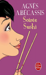 """Couverture du livre : """"Soirée sushi"""""""