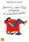 """Couverture du livre : """"Souriez, vous êtes parents d'adolescents !"""""""