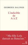 """Couverture du livre : """"L'indicible de A à Z"""""""