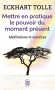 """Couverture du livre : """"Mettre en pratique le pouvoir du moment présent"""""""