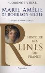 """Couverture du livre : """"Marie-Amélie de Bourbon-Sicile"""""""