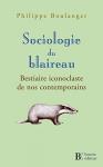 """Couverture du livre : """"Sociologie du blaireau"""""""
