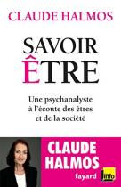 """Couverture du livre : """"Savoir être"""""""