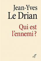 """Couverture du livre : """"Qui est l'ennemi ?"""""""