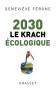 """Couverture du livre : """"2030, le krach écologique"""""""