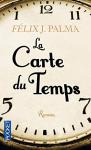"""Couverture du livre : """"La carte du temps"""""""