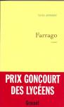 """Couverture du livre : """"Farrago"""""""