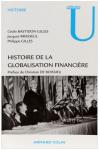 """Couverture du livre : """"Histoire de la globalisation financière"""""""
