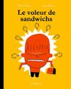 """Couverture du livre : """"Le voleur de sandwichs"""""""
