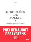 """Couverture du livre : """"Giboulées de soleil"""""""