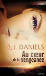 """Couverture du livre : """"Au coeur de la vengeance"""""""