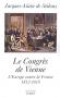"""Couverture du livre : """"Le congrès de Vienne"""""""