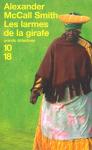"""Couverture du livre : """"Les larmes de la girafe"""""""