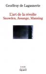 """Couverture du livre : """"L'art de la révolte"""""""