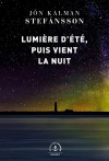 """Couverture du livre : """"Lumière d'été, puis vient la nuit"""""""