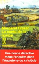 """Couverture du livre : """"Le conte de la novice"""""""