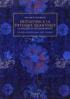 """Couverture du livre : """"Initiation à la physique quantique"""""""