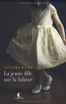 """Couverture du livre : """"La jeune fille sur la falaise"""""""