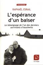 """Couverture du livre : """"L'espérance d'un baiser"""""""