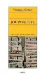 """Couverture du livre : """"Journaliste"""""""