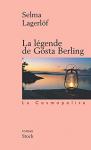 """Couverture du livre : """"La légende de Gösta Berling"""""""