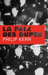 """Couverture du livre : """"La paix des dupes"""""""