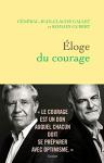"""Couverture du livre : """"Éloge du courage"""""""