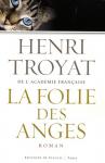 """Couverture du livre : """"La folie des anges"""""""