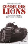 """Couverture du livre : """"Comme des lions"""""""
