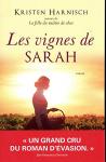 """Couverture du livre : """"Les vignes de Sarah"""""""