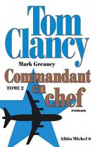 """Couverture du livre : """"Commandant en chef 2"""""""